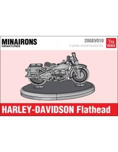 1/72 Harley-Davidson Flathead motorcycle