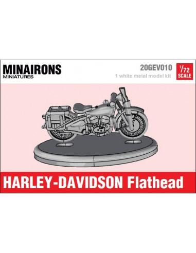 1/72 Moto Harley-Davidson Flathead