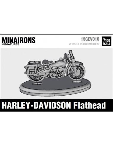 1/100 Harley-Davidson Flathead motorcycle