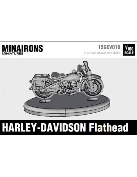 1/100 Moto Harley-Davidson Flathead