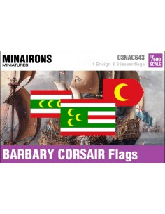 1/600 Barbary Corsair flags