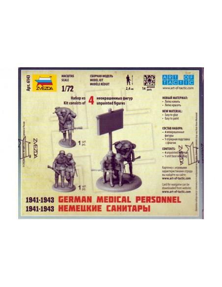 1/72 Personal médico alemán