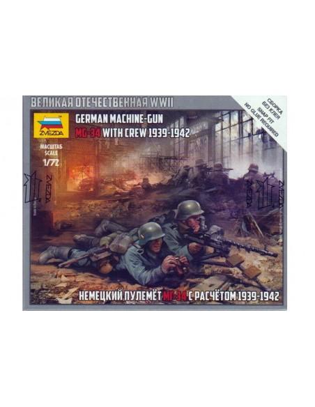 1/72 Metralladores MG-34 i servidors