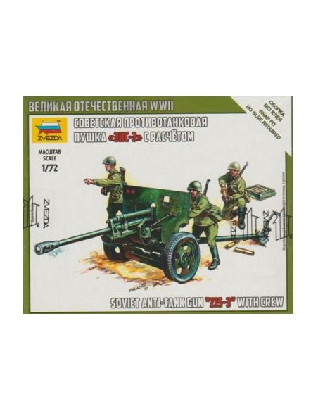 1/72 Antitanc soviètic ZiS-3