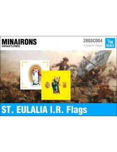 1/56 St. Eulalia IR flags