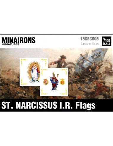 1/100 St. Narcissus IR flags