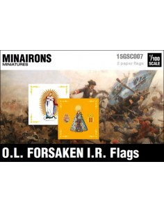 1/100 Our Lady of The Forsaken IR flags