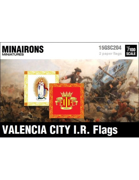 1/100 Valencia City IR flags