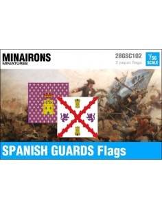 1/56 Spanish Guards flags