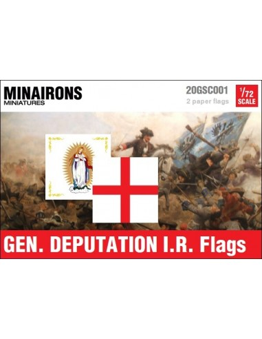1/72 Gen. Deputation IR flags