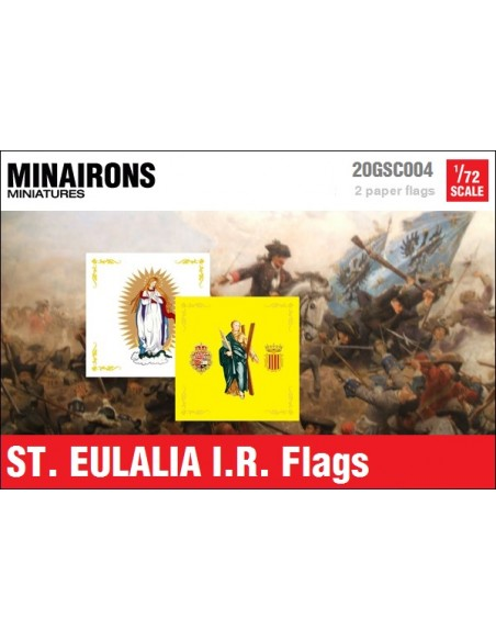 1/72 St. Eulalia IR flags