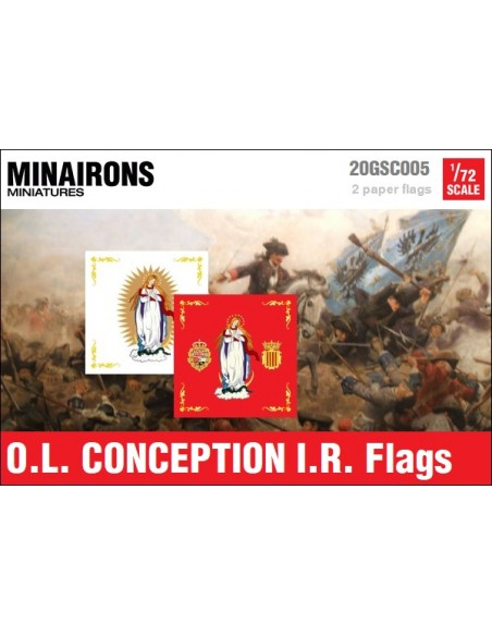 1/72 Our Lady of Conception IR flags
