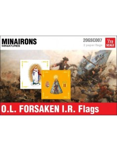 1/72 Our Lady of The Forsaken IR flags