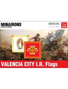 1/72 Valencia City IR flags