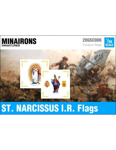 1/56 St. Narcissus IR flags