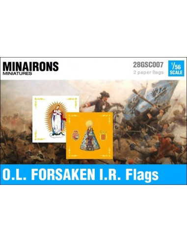 1/56 Our Lady of The Forsaken IR flags