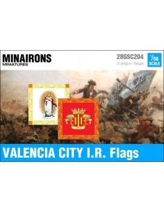1/56 Valencia City IR flags