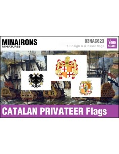 1/600 Catalan Privateer flags