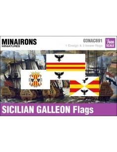 1/600 Pabellón de galeón siciliano