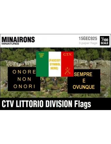 1/100 Italian CTV flags