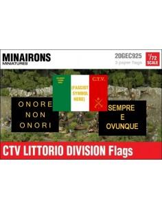 1/72 Italian CTV flags