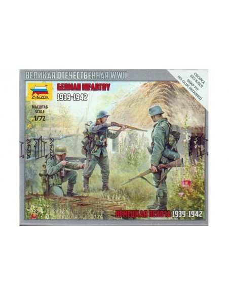 1/72 Infantería alemana