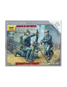 1/72 Mortero alemán de 81mm y servidores