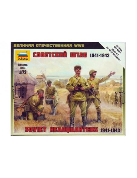 1/72 Grupo de mando soviético