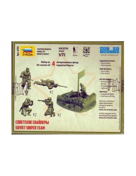 1/72 Francotiradores soviéticos