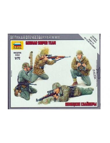1/72 German sniper team