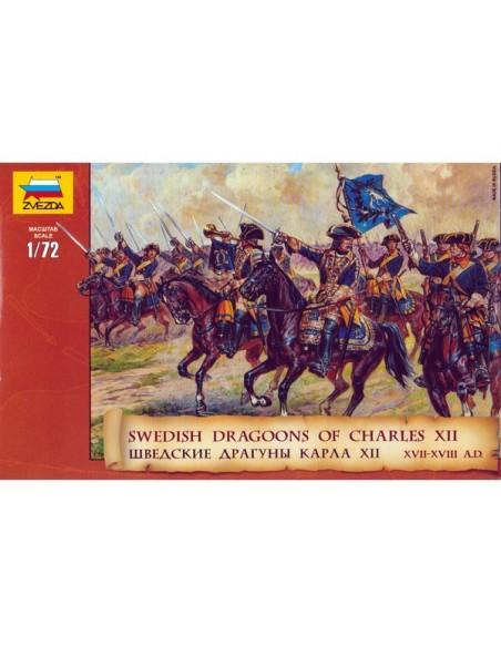 20mm Dragones suecos de Carlos XII