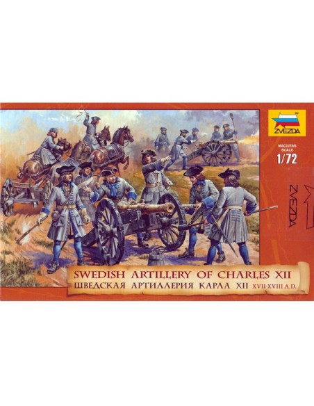 20mm Swedish artillery of Charles XII