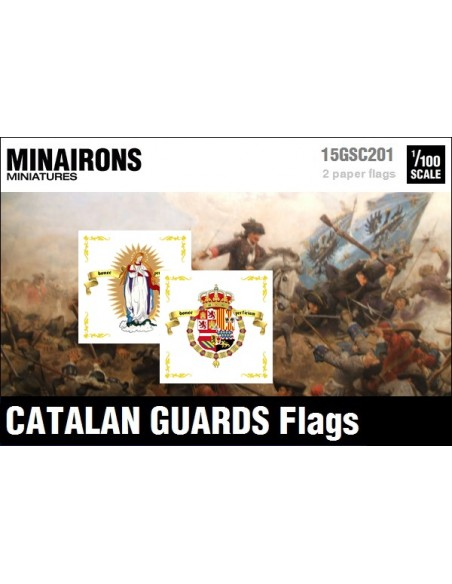 1/100 Catalan Guards flags