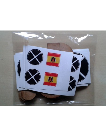 Spanish Nationalist CoC tokens
