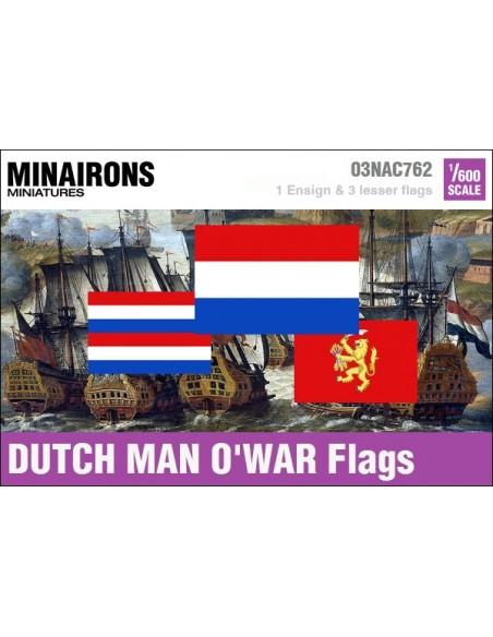 1/600 Pabellón de guerra neerlandés