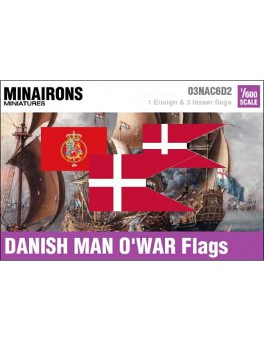 1/600 Pabellón de guerra danés