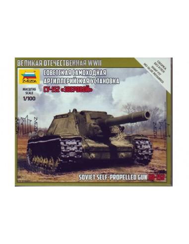 1/100 Cañón autopropulsado SU-152 - Caja de 1