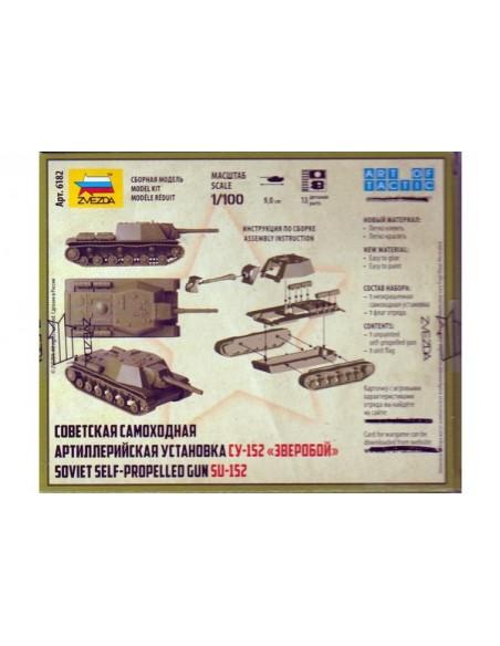 1/100 SU-152 self-propelled gun - Boxed kit