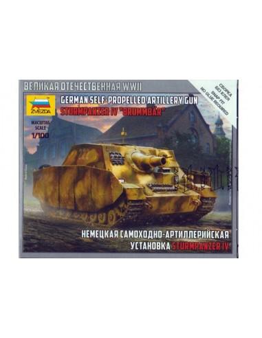 1/100 Obús autopropulsado Sturmpanzer IV - Caja de 1