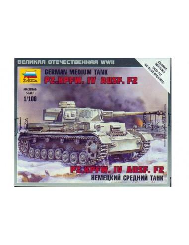 1/100 Panzer IV F2 - Boxed kit