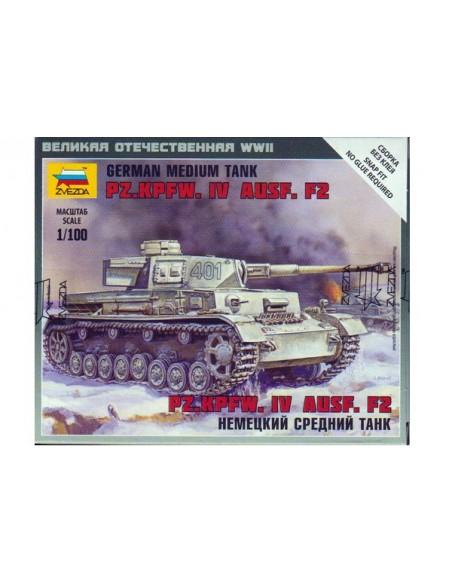 1/100 Panzer IV F2 - Caja de 1