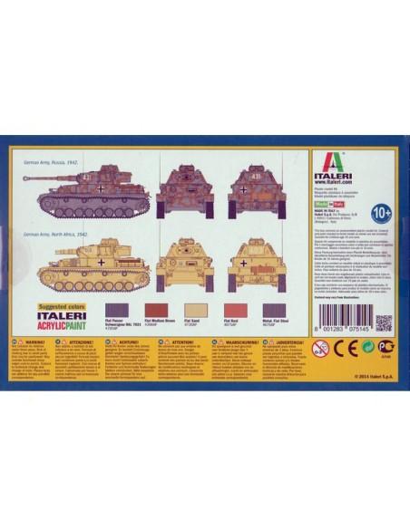 1/72 Panzer IV F1/F2 - Caja de 2
