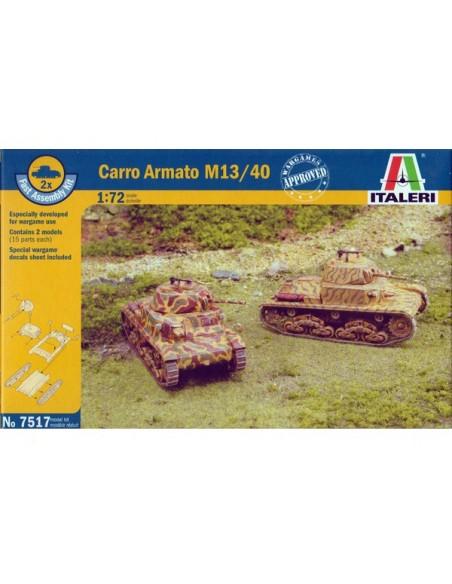 1/72 Carro M13/40 - Caja de 2