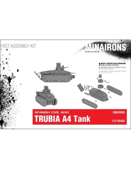 1/72 carro Trubia A4 - Caja de 1