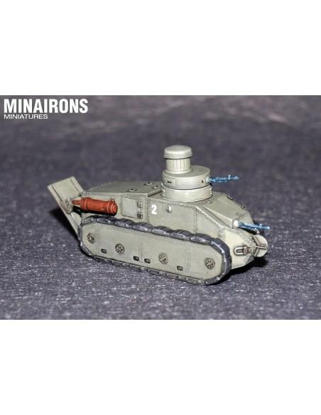 1/72 tanc Trubia A4 - Capsa d'1
