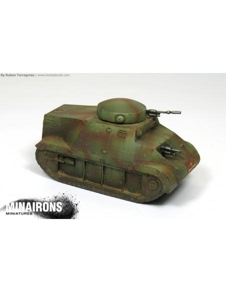 1/100 Trubia-Naval Tank - Single model