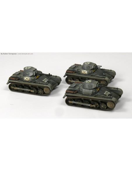 Panzer I Ausf. A - 1/100 scale