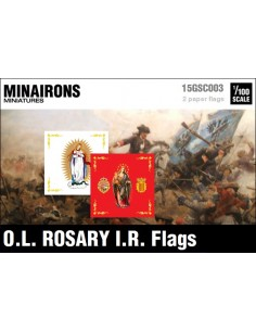 1/100 Our Lady of Rosary IR flags