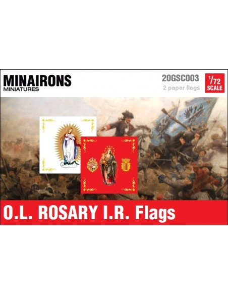 1/72 Our Lady of Rosary IR flags