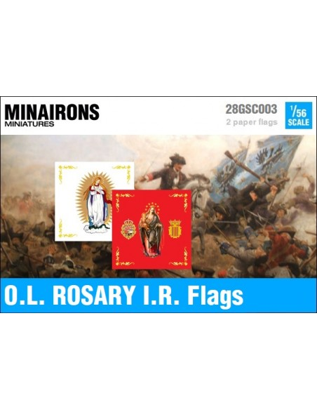 1/56 Our Lady of Rosary IR flags